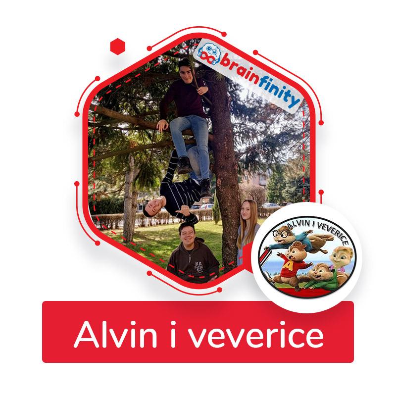 Alvin i veverice