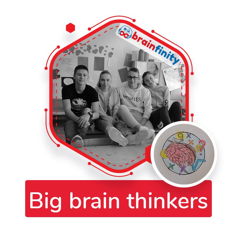 Big brain thinkers
