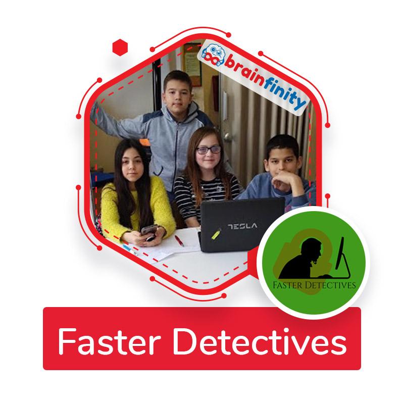 faster detectives