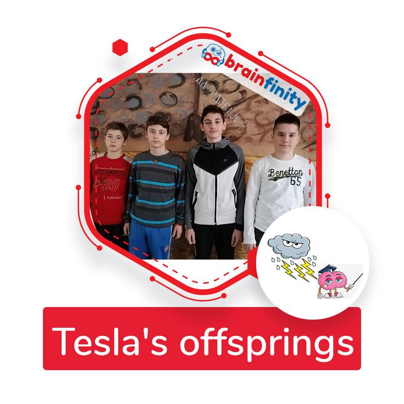 tesla's offsprings
