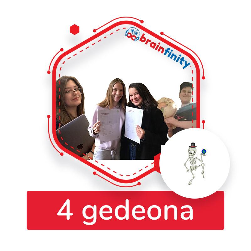 4 gedeona