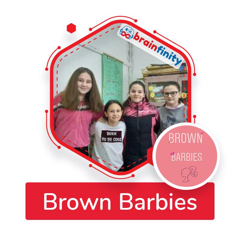 brown barbies