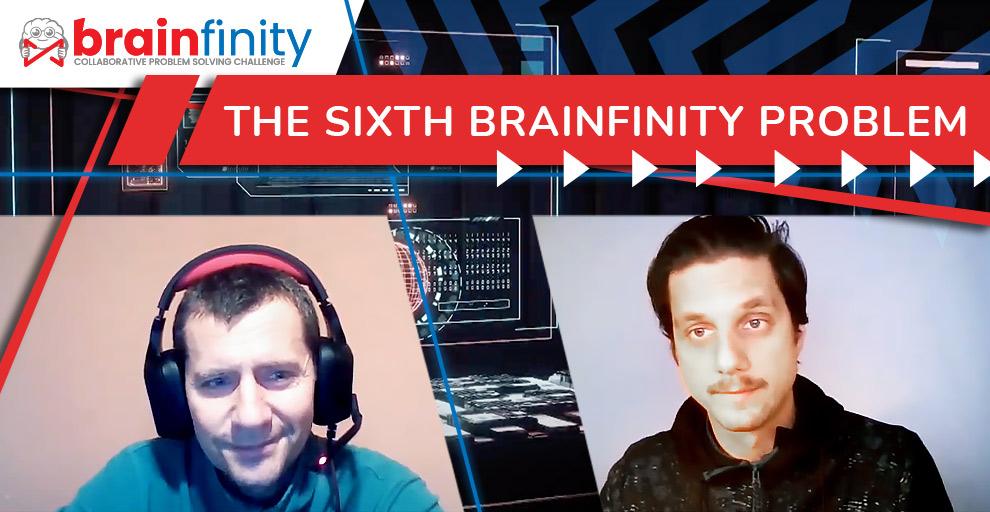 The sixth Brainfinity problem